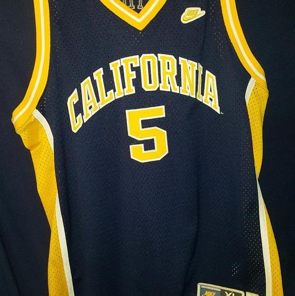 the latest e1519 64779 Jason Kidd #5 California Nike Throwback jersey